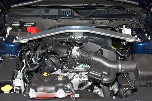 2017 Mustang V6 Mca Package Engine Cover