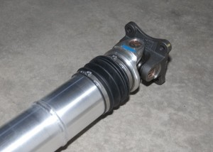 Shaft Masters V6 Mustang Driveshaft Front End