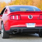 Roush Rear Valence on V6 2011 Mustang