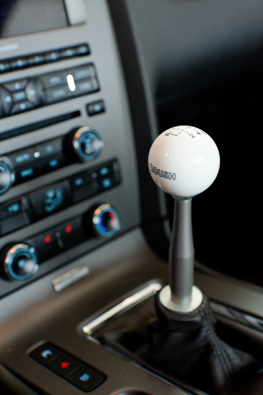 Tmw Shifter Extension And Roush 6 Speed Shift Knob A