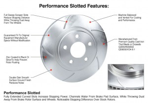 Brake Performance Slotted Rotor Detials