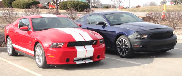 Sheby 3.7l GTS and ProCharger 3.7L V6 mustang