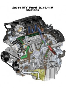 Ford 3.7l Mustang Engine