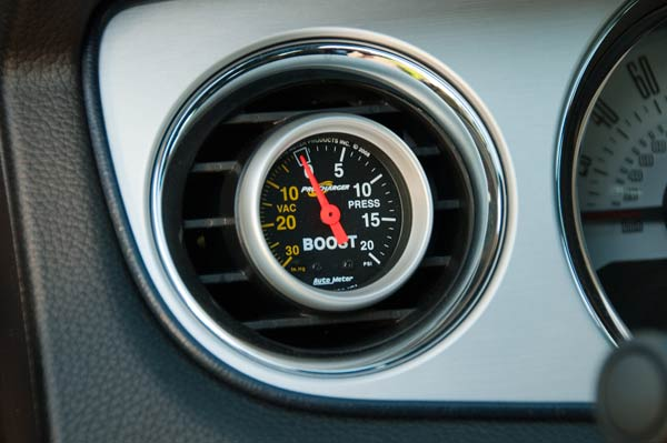 Boost Guage and Roush A/C Vent Gauge Pod – A Journey in