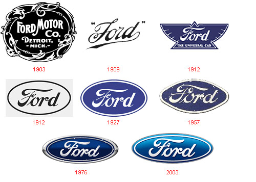 Ford Motor Company Logo History A 3 7l V6 Mustang Owner