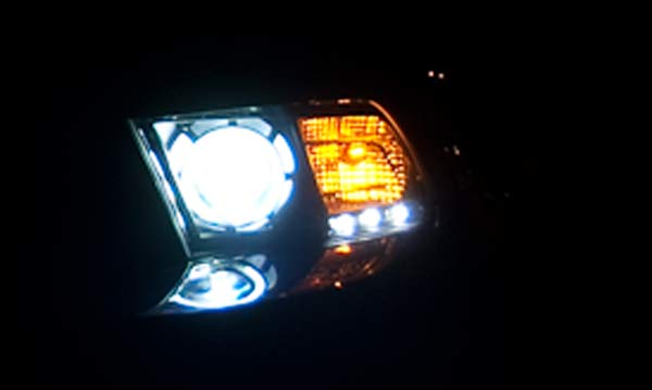 3.7 V6 Mustang halo Light HID Headlight Upgrade