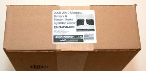 CPC Mustang Battery and Master Cylinder Covers Box