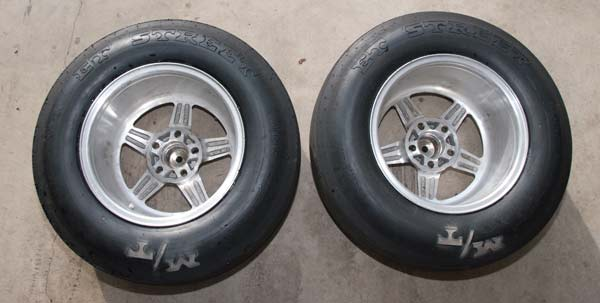 Racestar 15x10 Wheels With Mickey Thompson Et Street Tires