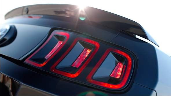 2013 ford v6 mustang rear lights