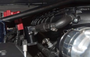 JLT Oil Separator on Supercharged 3.7L v6 Mustang