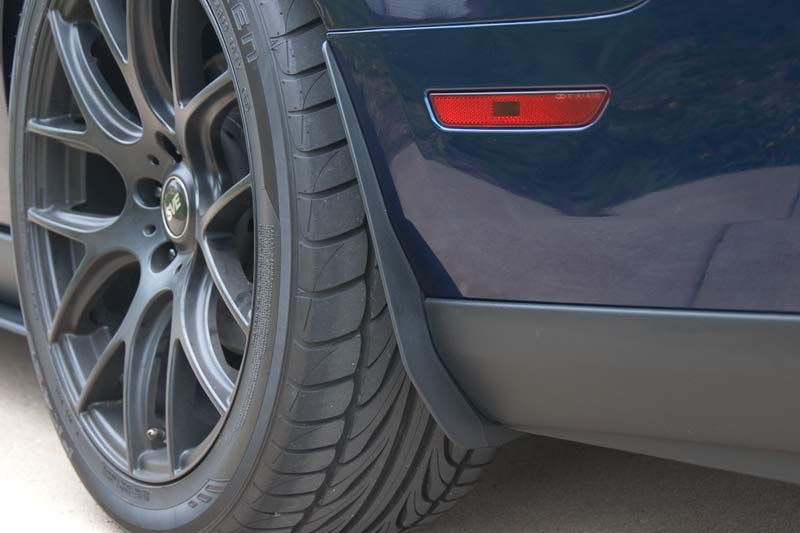 2013 Ford Mustang V6 >> GT500 Mud Flaps Install – A Journey in Performance with ...