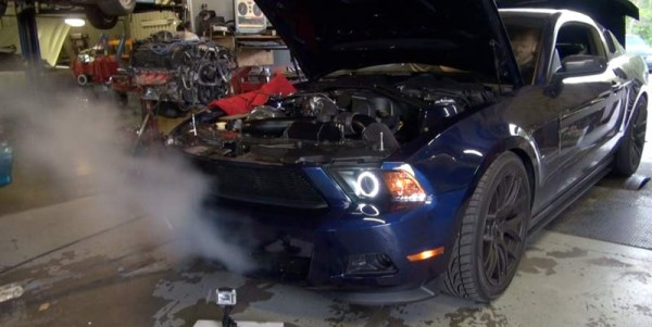 528 RWHP on a 3.7L mustang