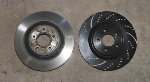 ebc rotor compared to stock