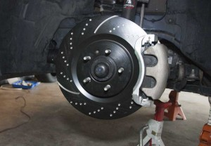 Replace brake caliper