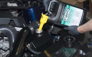 Evans coolant install
