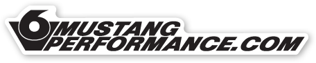 V6 Mustang Performance Dot com Sticker