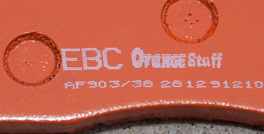 EBC Orange Stuff Pads