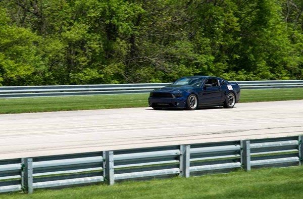 2011 Mustang at the Autbahn Track