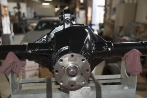 Mustang Rear Floater Axle