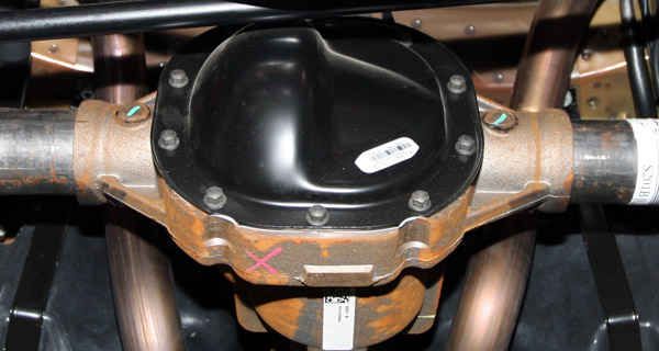 3 7l V6 Mustang Performance Package 31 Rear End